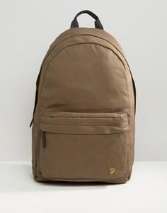 Парусиновый рюкзак цвета хаки Farah - Зеленый