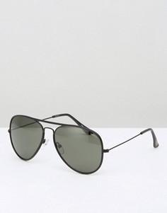 Солнцезащитные очки-авиаторы Esprit - Черный