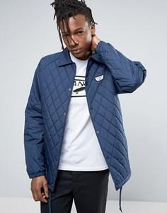 Синяя стеганая спортивная куртка Vans Torrey - Синий