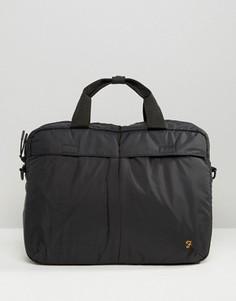 Черная сумка для ноутбука Farah - Черный