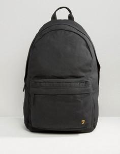 Черный парусиновый рюкзак Farah - Черный