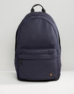 Темно-синий парусиновый рюкзак Farah - Темно-синий