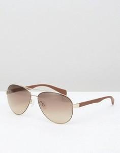 Солнцезащитные очки-авиаторы Esprit - Золотой