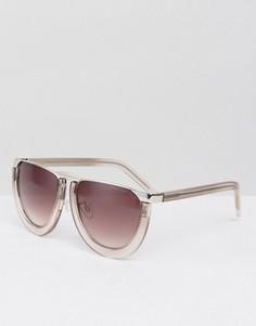 Солнцезащитные очки в полуоправе Somedays Lovin - Серый
