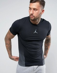 Футболка с логотипом Nike Jordan Selected 862187-010 - Черный