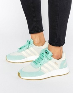 Кроссовки с отделкой мятного цвета adidas Originals - Зеленый