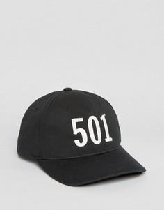 Черная бейсболка Levis 501 - Черный Levis®