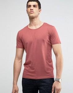 Футболка из хлопка пима Selected Homme - Красный
