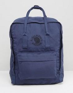 Темно-синий рюкзак объемом 16 л Fjallraven Re-Kanken - Темно-синий