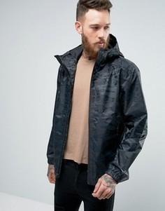 Черная куртка с капюшоном и камуфляжным принтом The North Face Millerton - Черный