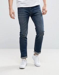 Выбеленные джинсы скинни цвета индиго Bellfield - Темно-синий