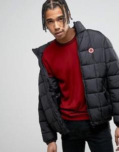 Дутая куртка на молнии Love Moschino - Черный