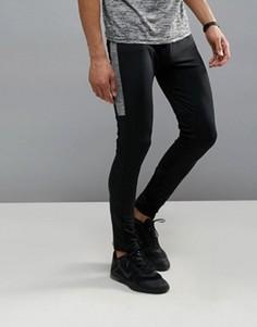 Спортивные черные брюки Burton Menswear Sport - Черный