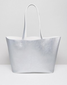 Двусторонняя сумка-шоппер ASOS - Белый