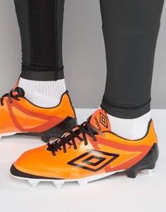 Футбольные кроссовки Umbro Velocita Pro SG - Оранжевый