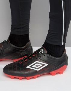 Футбольные кроссовки Umbro UX 2.0 Premier HG - Черный