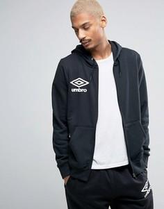 Куртка на молнии с капюшоном Umbro - Черный