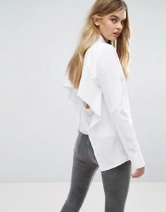 Рубашка с открытой спиной Cheap Monday - Белый