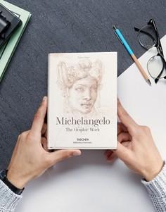 Книга с графическими рисунками и набросками Микеланджело - Мульти Books
