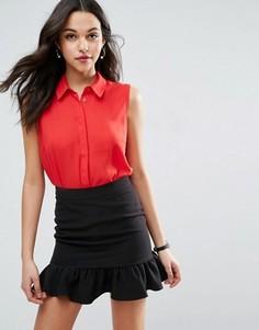 Блузка без рукавов ASOS - Красный
