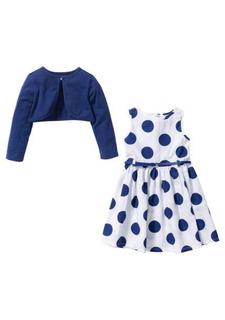 Комплект, 3 части: платье + болеро + ремень