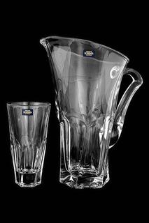 Набор для воды 7 предметов Crystalite Bohemia