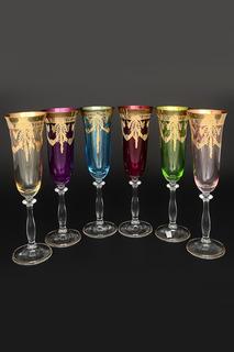 Фужеры для шампанского 190 мл Bohemia