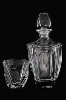 Набор для виски 7 предметов Crystalite Bohemia