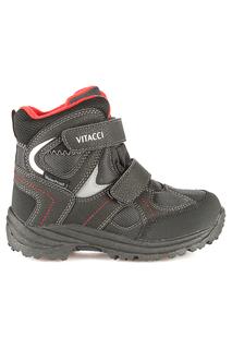 Ботинки школьные утепленные Vitacci