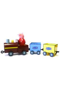 """Набор """"Поезд Пеппы-неваляшки"""" Peppa Pig"""
