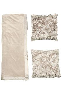 Комплект: 2 подушки, плед MIKRONESSE