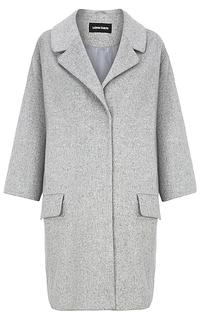 Полушерстяное пальто оверсайз La Reine Blanche