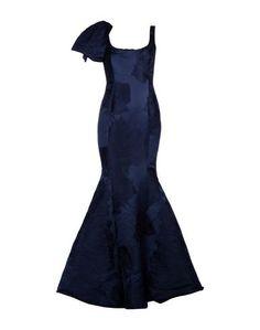 Длинное платье Carolina Herrera