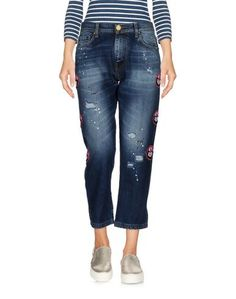Джинсовые брюки-капри Frankie Morello