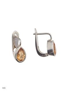Ювелирные серьги SL Silverland
