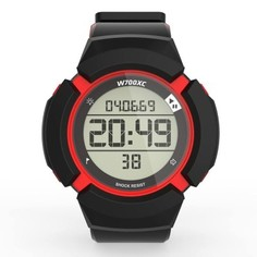 Спортивные Часы Противоударные W700xc M Swip, Черные/красные Geonaute