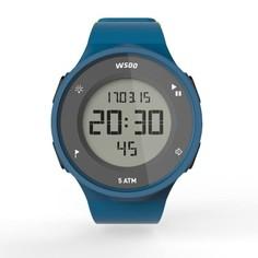 Часы Спортивные С Таймером W500 M Swip Муж. Голубые Зелёные Geonaute
