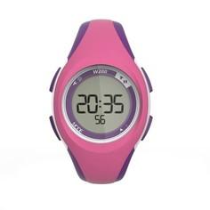 Часы С Таймером Для Занятий Спортом W200 S Жен./дет. - Розовые И Фиолетовые Geonaute