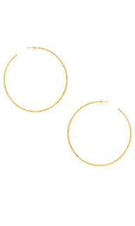 Taner xl hoop earrings - gorjana