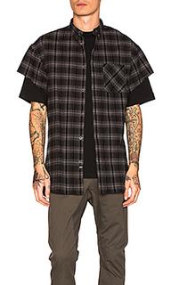 Rugger cut sleeve shirt - Zanerobe