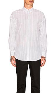 Рубашка pinstripe rugger - Zanerobe