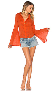Old days bell sleeved shirt - AUGUSTE