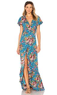 Платье с рюшами beach house - AUGUSTE