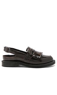 Valentine sling back tassel loafer - Dr. Martens