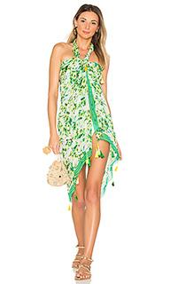 Romantic floral sarong - ROCOCO SAND
