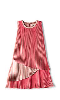 Платье с воланами sasha girls - Stella McCartney