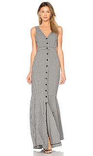 Judith gingham maxi dress - Marissa Webb