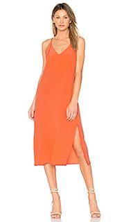 Макси платье с v-образным вырезом maelle - CHARLI