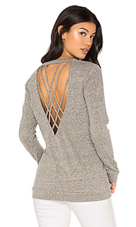 Strappy back pullover - Lanston