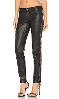 Leather studded skinny - Etienne Marcel